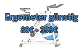 Ergometer günstig - Ergometer billig