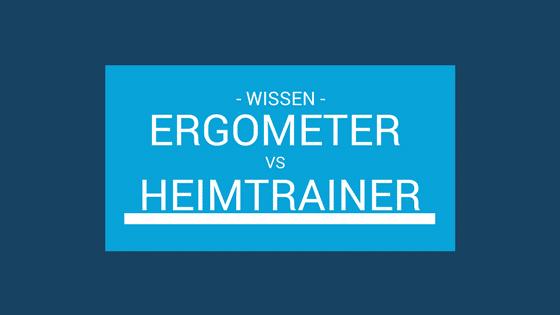 Ergometer oder Heimtrainer