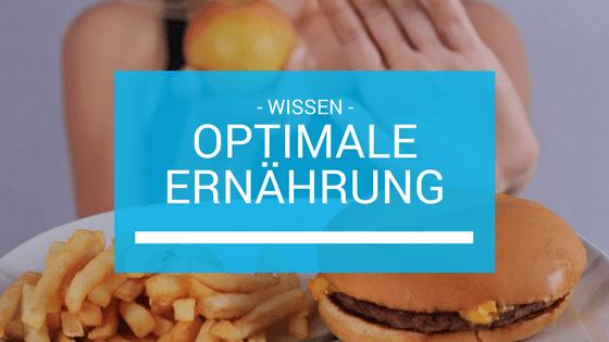 Optimale Ernährung Beitragsbild
